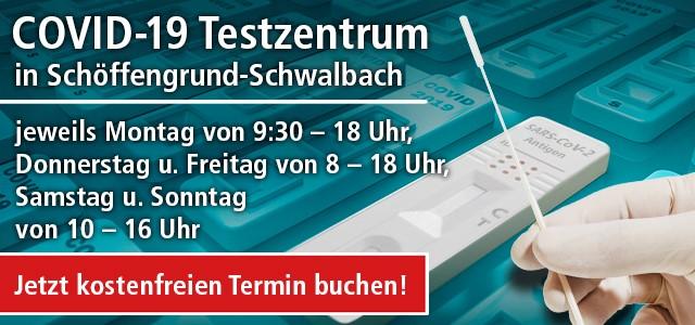 Terminbuchung im COVID-19 Testzentrum in Braunfels im Haus des Gastes