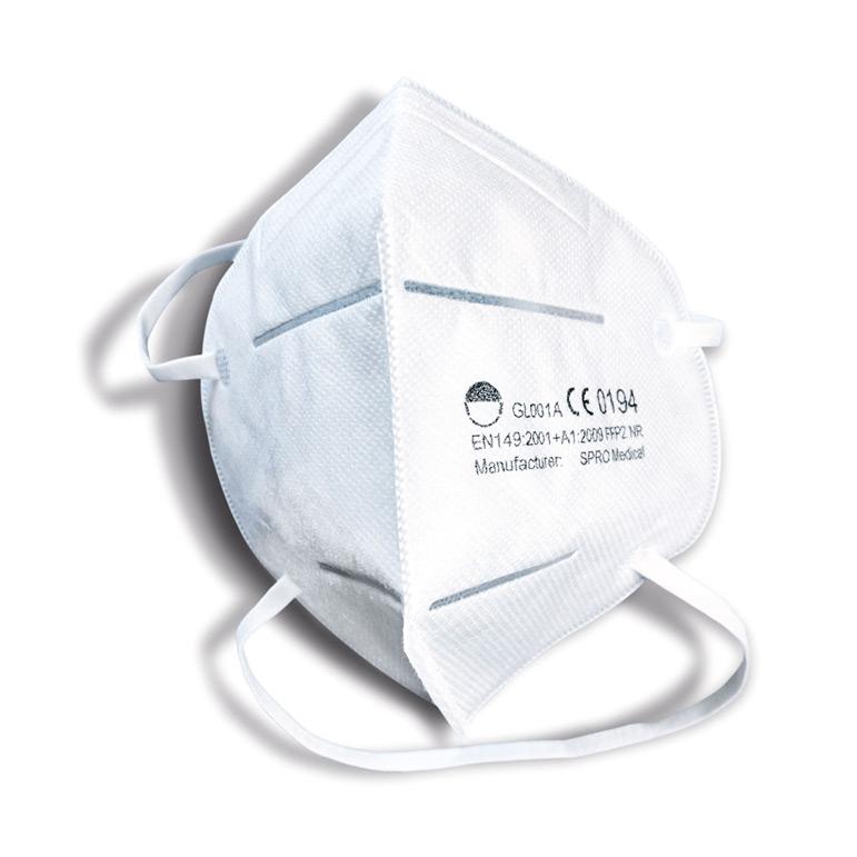 Atemschutzmaske / Filtrierende Halbmaske KN95