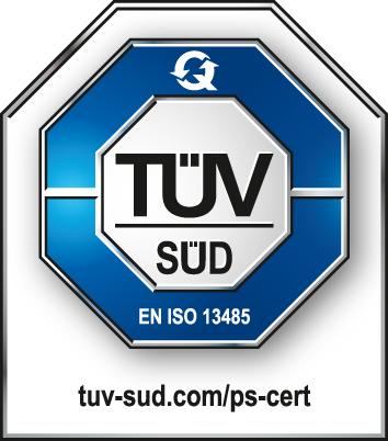 TÜV SÜD EN ISO 13485